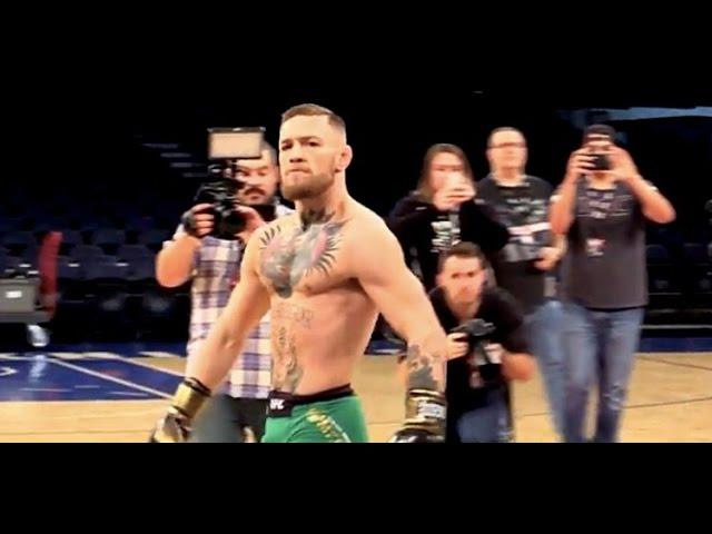 Conor McGregor UFC 205 Open Workout