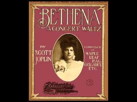 Scott Joplin - Bethena - A Concert Waltz (1905)