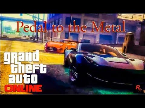 GTA  5 PEDAL TO THE METAL - Fast & Furious [PS4 Rockstar Editor]