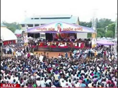 Mahinda begins campaign in Anuradhapura (English)