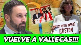 ABASCAL VUELVE A VALLECAS Y DESESPERA A LA IZQUIERDA, QUE SIGUE CON MONTAJES RIDÍCULOS CONTRA VOX! 😂