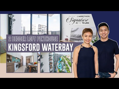 Kingsford Waterway:  2 Bedder Loft Penthouse below $1million In Singapore ($960K, Condominium)