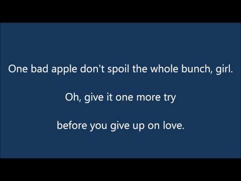 The Osmonds   One Bad Apple Lyrics