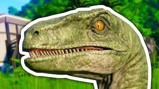⚡ RAPTORY ATAKUJĄ! - Jurassic World Evolution PL #3