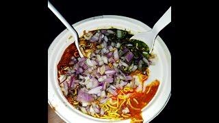 Aloo Tikki Chaat   Chole Masala chaat    Delhi Street Food.