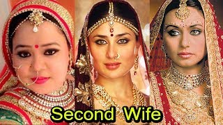 Bollywood Actress Who Happily Became Second Wife For Money | 2018