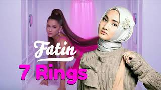 Speechless!Fatin Ariana Grande - 7 Rings(Fatin Cover + Lyric Karaoke ),Keren! Mantul ,Best Song 2019