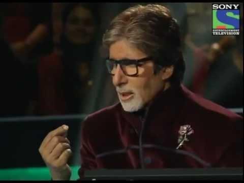 Amitabh Bacchan recites beautiful poem from silsila for Katrina Kaif on KBC