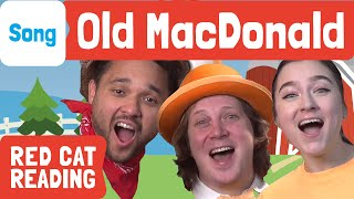 Old MacDonald Had a Farm | Kids songs | Magicio & Friends | Made by Red Cat Reading