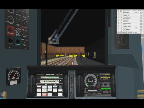 Openbve LIRR Gameplay - From Hempstead to Atlantic Terminal
