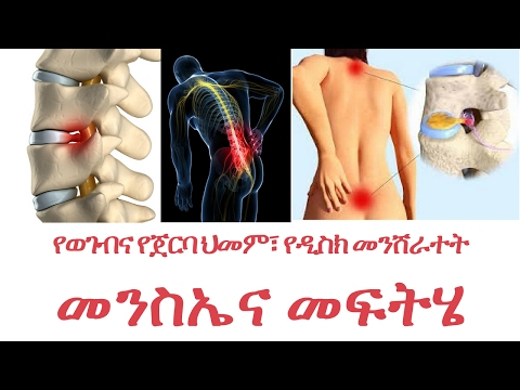Back pain and its solution