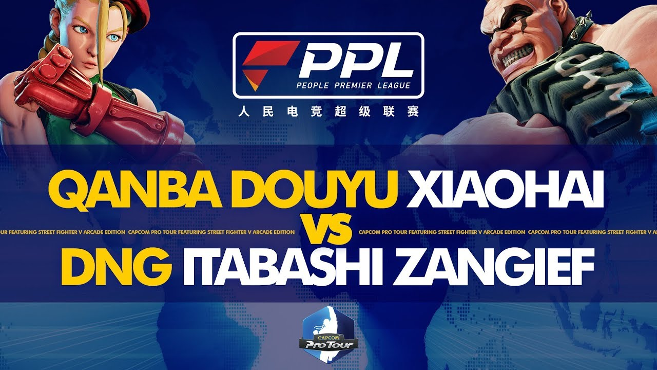 QANBA DOUYU Xiaohai vs DNG Itabashi Zangief - PPL Fighters Masters 2019 Day  1 - CPT 2019