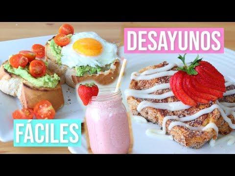 4 Desayunos para el Dia de la Madre | RebeO