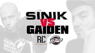 Rap Contenders : Sinik Vs Gaiden dans Planète Rap