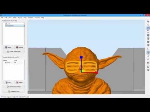 3D Transform Gizmo | Simplify3D