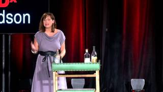Stirred with a tail feather -- cocktails & the art of listening | Kat Dunn | TEDxHudson
