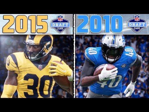 2015 NFL DRAFT CLASS vs. 2010 NFL DRAFT CLASS | Madden Draft Class Tournament Game 6
