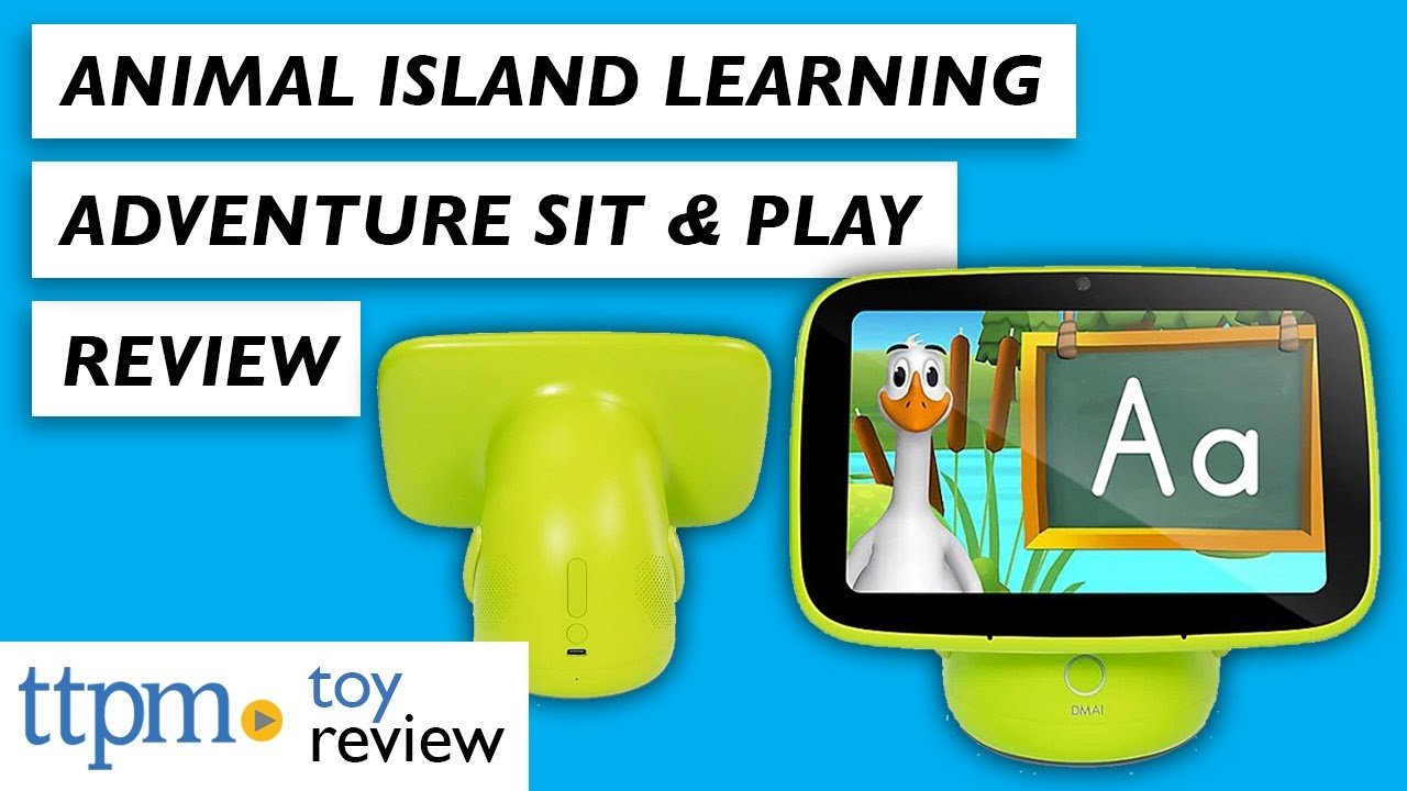Animal Island Learning Adventure Sit & Play from DMAI, Inc.