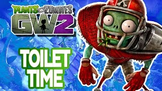 TOILET TIME! Plants Vs Zombies: Garden Warfare 2