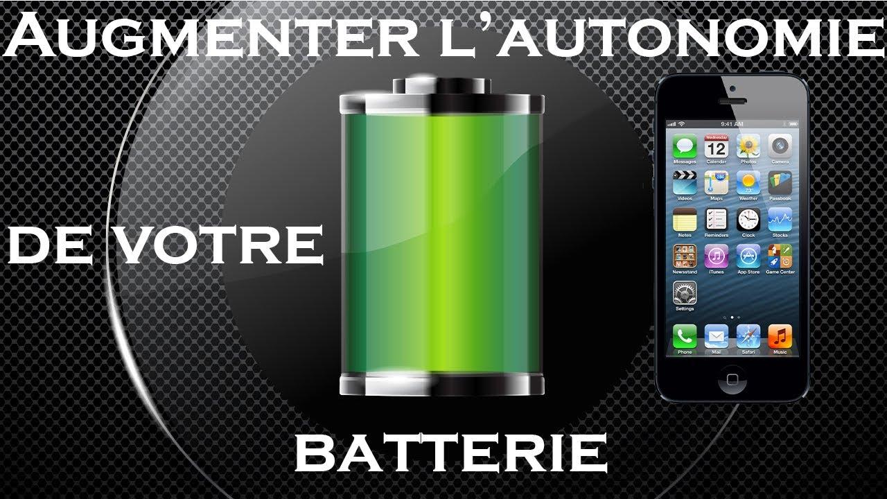 iphone 6s batterie se decharge vite