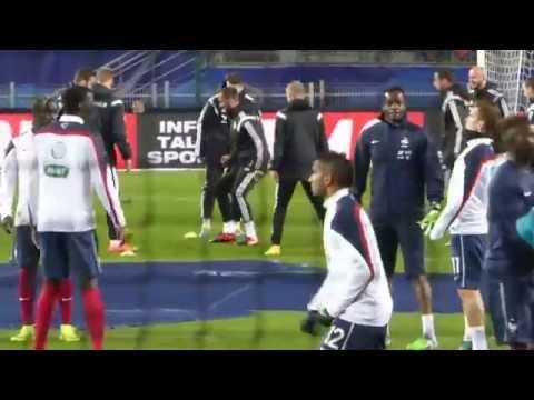 Steve Mandanda ● Bacary Sagna ● Kurt Zouma ● Antoine Griezmann ● France vs Albanie 2014