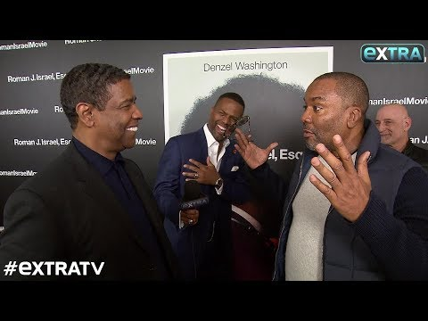 The MustSee Moment When Lee Daniels Crashed Our  with Denzel Washington