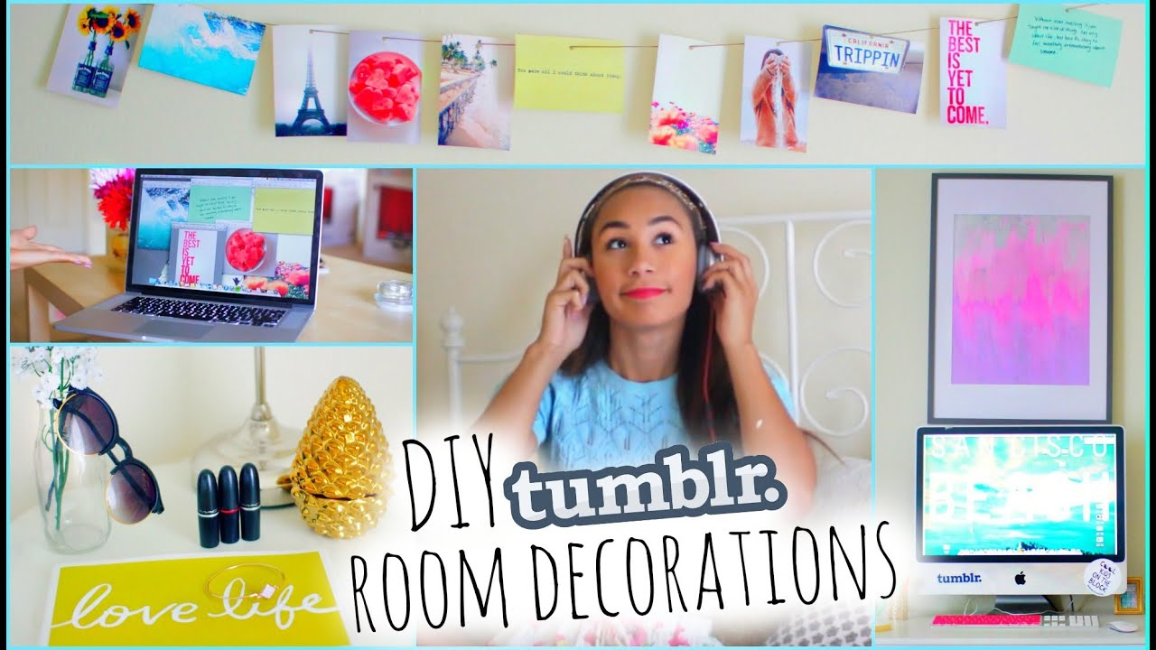 Make your room look tumblr diy tumblr room decorations for Diy room decorations youtube