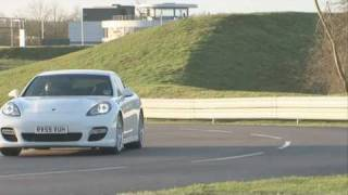 Fifth Gear: Web TV - Porsche Panamera Turbo Track Review(In this video, Vicki Butler Henderson takes to the track in the latest and quickest version of Porsche's super saloon; the £95000 Panamera Turbo. For more ..., 2010-01-02T21:59:52.000Z)