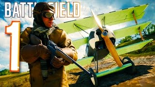 Battlefield 1 Funny Moments - Tank & Flying Adventures!