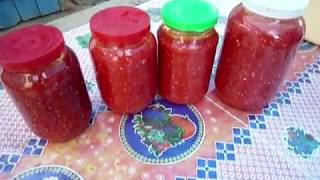 Аджика  из помидор Сырая аджика