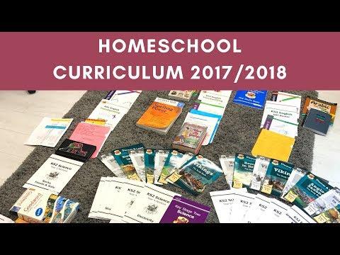 Homeschool Curriculum 2017/2018