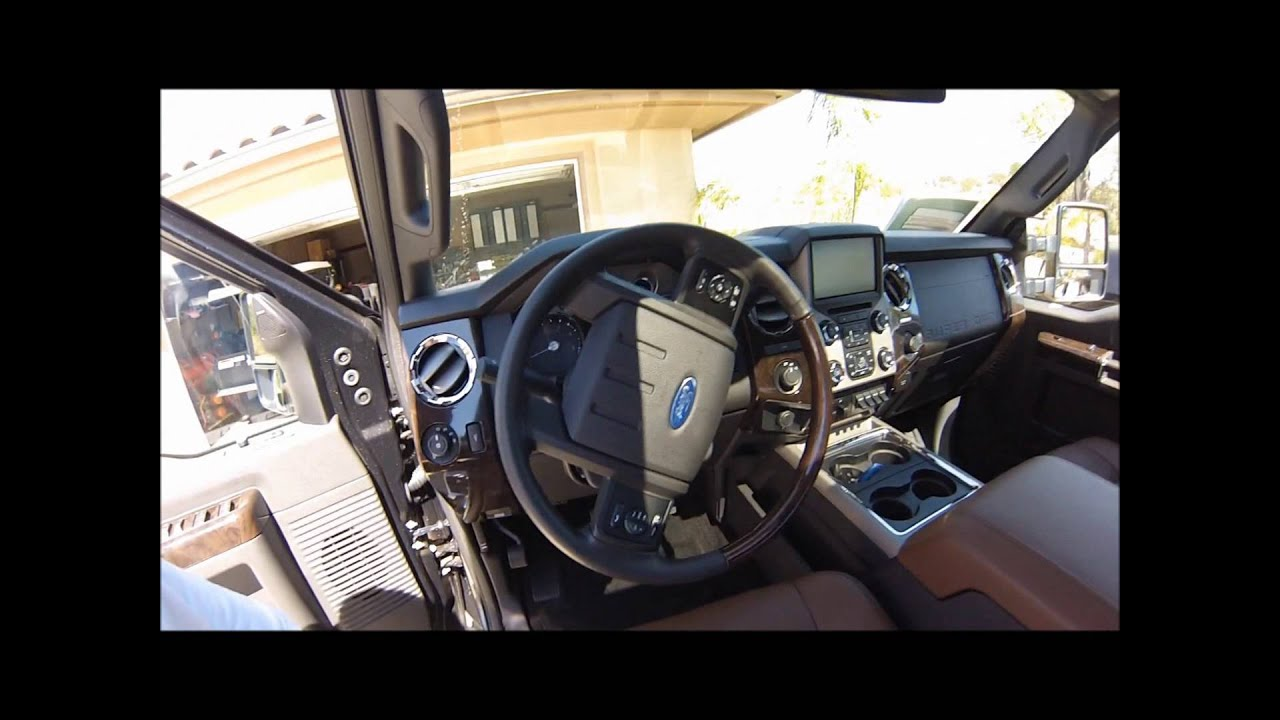 Ford F 450 Platinum 4x4 Walk Around 1080p Make Sure You