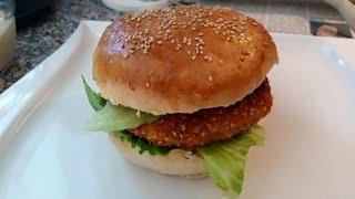 Chickenburger selber machen im Thermomix® TM5