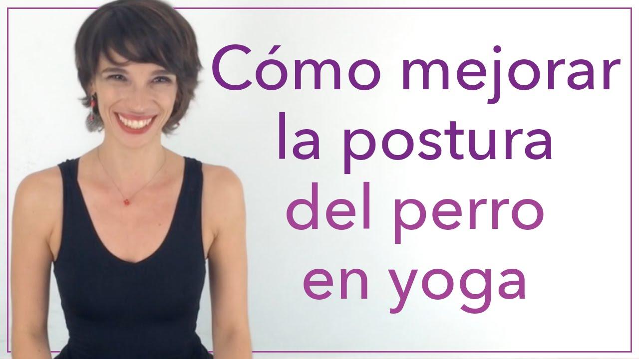 Cómo Mejorar La Postura Del Perro En Yoga Yoga Ejercicios De Yoga Posturas De Yoga