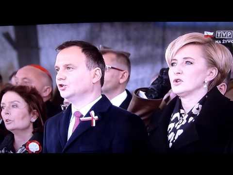 Jeszcze Polska Nie Zginęła - Hymn  Na Św. Niepodległości Polski W Warszawie