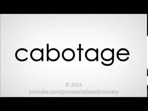 How to pronounce cabotage