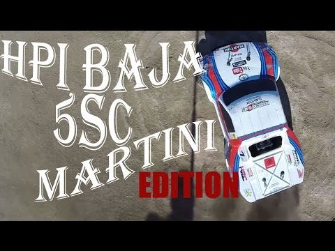 HPi BAJA 5SC | MARTiNi RACiNG | X-CAN sound | motor 26cc de fabrica