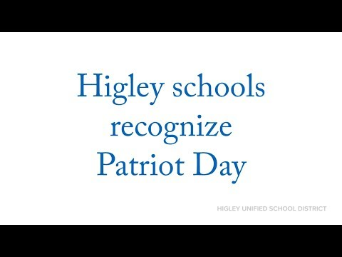 Higley students remember 9/11