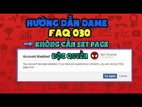 [Tips And Tricks] Hướng Dẫn Dame FAQ 030 Die 5s Not Set Page Cực Bá✓