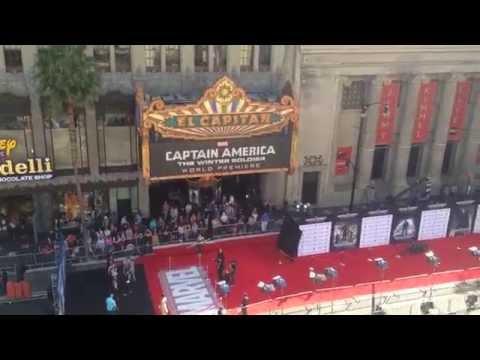 Captain America World Premier Hollywood