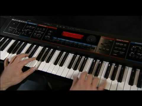 Roland JUNO-Di introduction (part 1) - YouTube