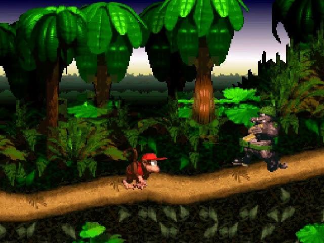 Jouez à Donkey Kong Country sur Super Nintendo