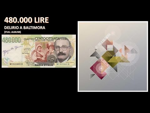 480.000 LIRE - Delirio a Baltimora - Full Album - Demo 2013