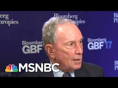 Bloomberg: Some Of Trump's Job Agenda Go 'In The Wrong Direction'   The Beat With Ari Melber   MSNBC