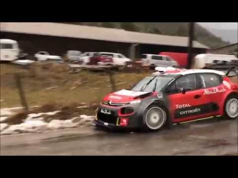 citro n c3 wrc rallye monte carlo 2018 tests kris meeke youtube. Black Bedroom Furniture Sets. Home Design Ideas