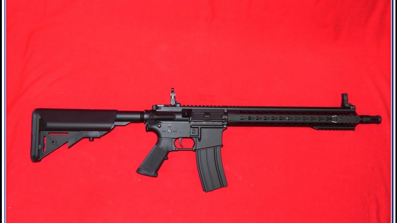 Airsoft - Cybergun Colt M4 Keymod shooting tests