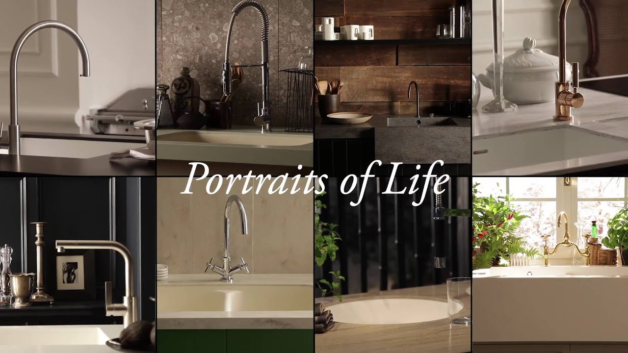 DuPont ™ Corian Portraits of Life Kitchen Collection