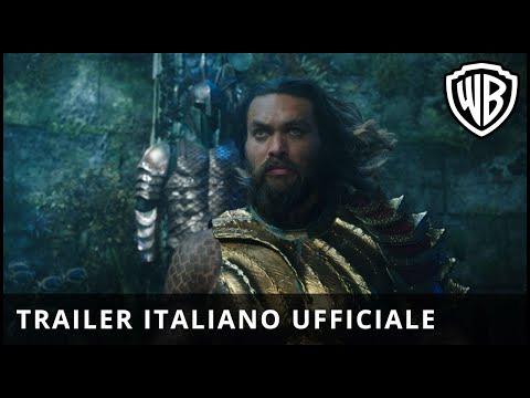 AQUAMAN - Primo Trailer Ufficiale Italiano