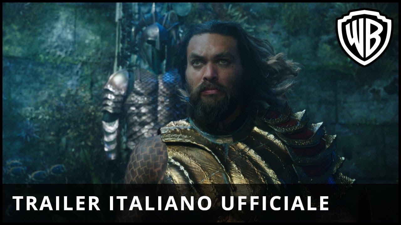 Download AQUAMAN - Primo Trailer Ufficiale Italiano