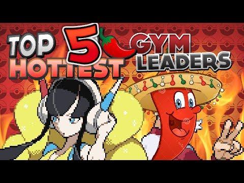 Top 5 Hottest Pokémon Gym Leaders